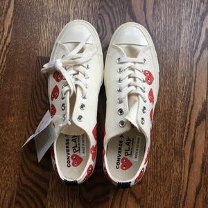 Commes Des Garçons Play Converse Low Top Sneaker